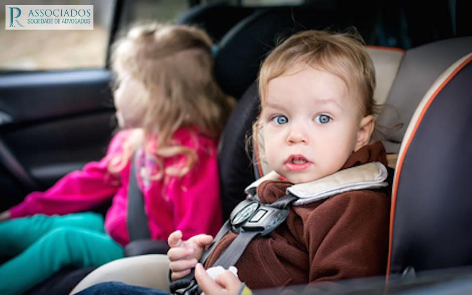 Direitos das crianças acidentes viação