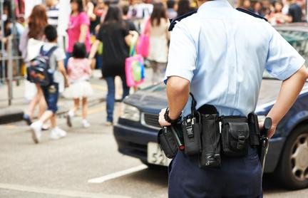 acidente de viação policia